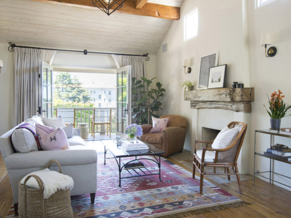 Erin King Interiors: SPANISH ROCKRIDGE HOME - Custom Living Room Design
